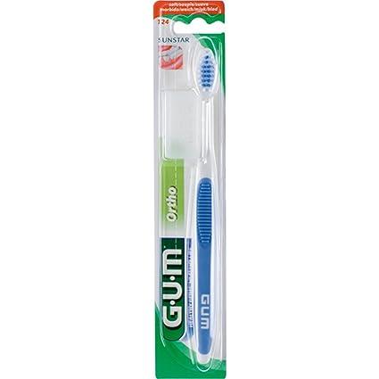 G.U.M. SUNSTAR Ortho 124 - Cepillo de dientes (goma)