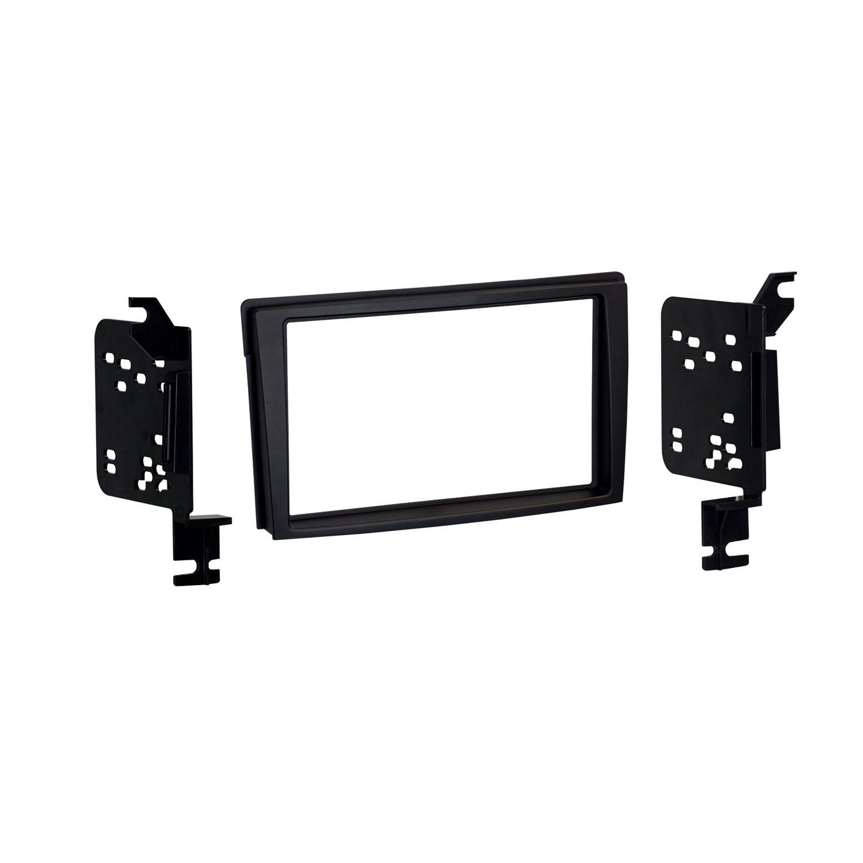 Metra 95-7502B Double DIN Dash Installation Kit for Select 2000-06 Mazda MPV Vehicles (Black)