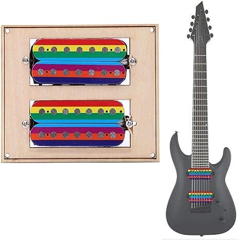Bnineteenteam Guitarra de 7 Cuerdas Pastilla de Doble Bobina ...