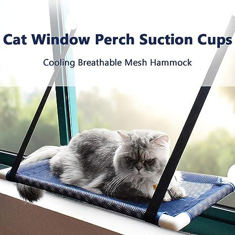 Festnight Cat Window Posch Hamaca Cama Enfriamiento Malla ...