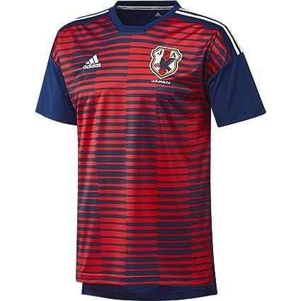 adidas Japón de Home Pre Match Camiseta, Todo el año, Hombre, Color Ngtblu
