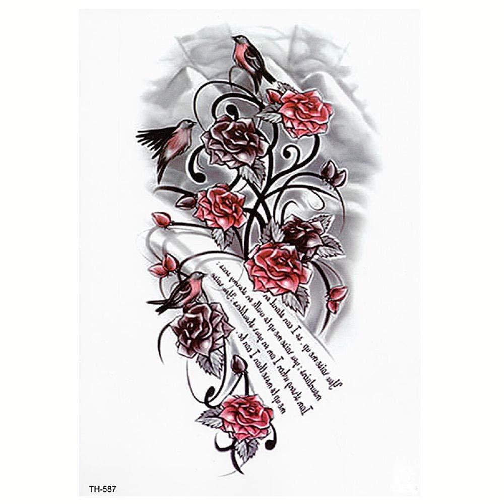 Tatuaje temporal, Body Art Tattoo Lettering Eliminación de ...