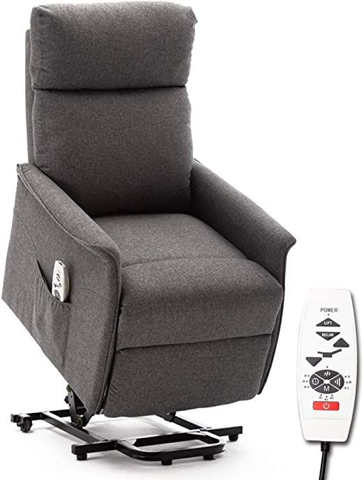 : ERGOREAL Lift Chair, Power Lift Recliner with