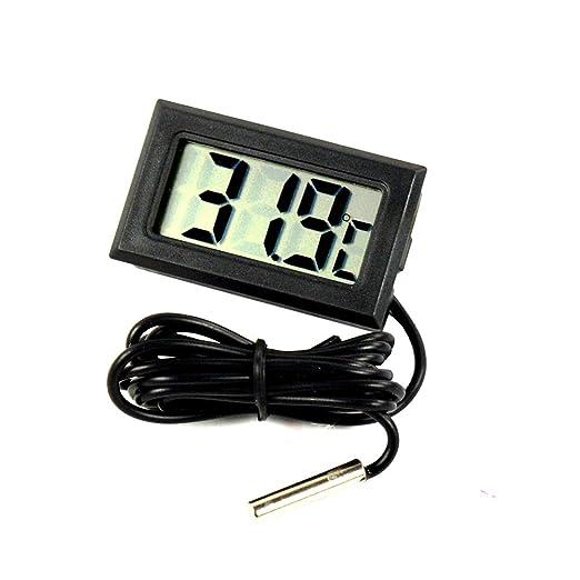 Sonda LCD De Termómetro Digital Para Refrigerador, Pantalla De ...