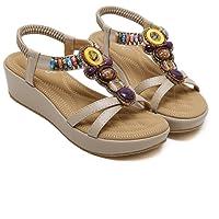 Ruanlei@Sandalias/Sandalias de Playa Para Mujer/Sandalias y chanclas/Sandalias planas/Sandalias
