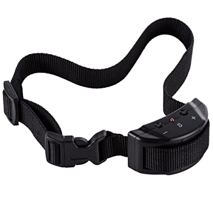Vastar Ag14 No Bark Dog Collar Electric Anti Bark Shock Control With 7 Levels Button Adjustable Sensitivity Control Stimulation Of No Harm Warning