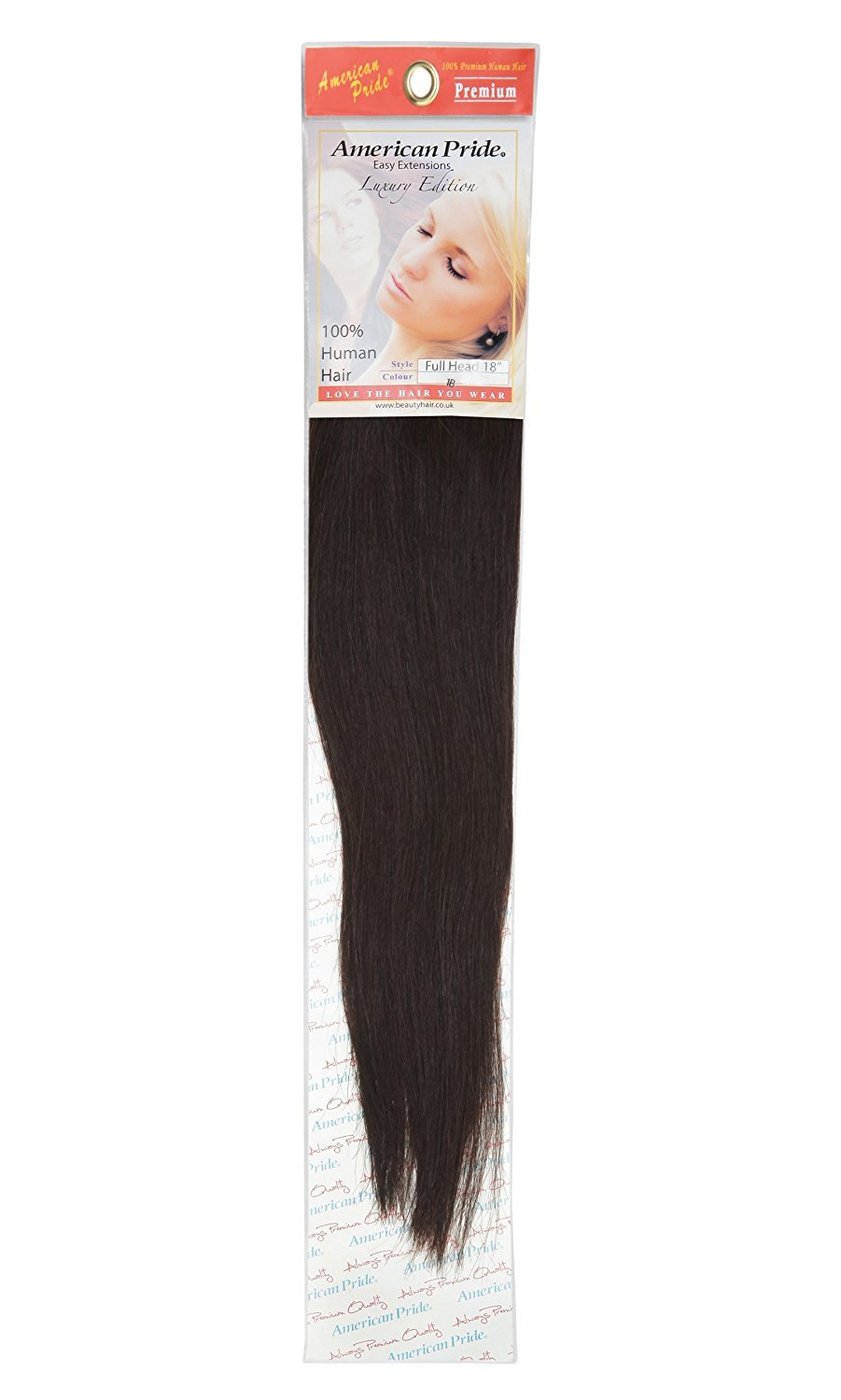 Amazon Clip In Human Hair Extensions Full Head 18 Inch Barely