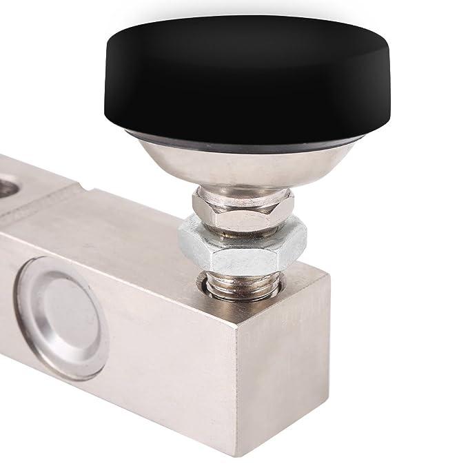 Sensor de Pesaje Sensor de Ponderación de 1000KG Sensor de Célula de Carga de Alta Precisión con Cable Blindado de 4 Núcleo para Peso de Tolva (1000kg): ...