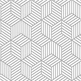 "RoomMates RMK10705WP Striped Hexagon Peel and Stick Wallpaper, 20.5"" x 16.5 Feet, White/Grey"