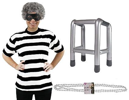 Adultos Gangster disfraz de abuela * Deluxe * Perfecto para ...