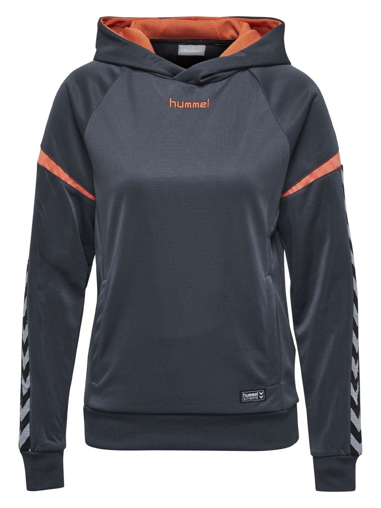 Hummel Auth. Charge Wo Poly Hoodie - black