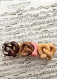 Polymer clay pretzel hair barrette|Polymer clay pretzel hair clip|Polymer clay sweets hair accessory| Food jewelry