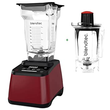 Pack Promo Blendtec Designer 625 rojo + Twister Jar 800 ml – Licuadora
