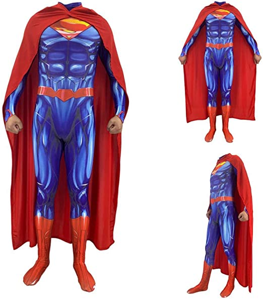 Disfraces para Adultos/Niños, Superman Steel Body 2 Medias ...
