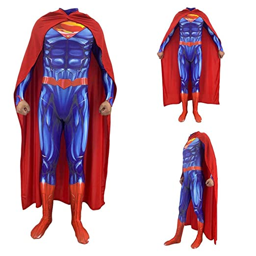 Disfraces para Adultos/Niños, Superman Steel Body 2 Medias ...