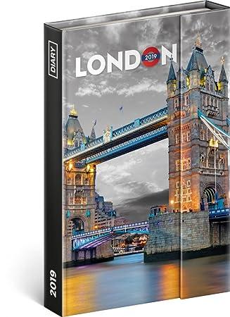 2019 - Agenda personal (cierre magnético), color London ...