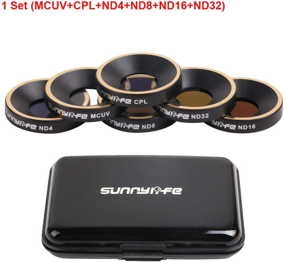 ND8 MCUV+CPL+ND4 ND32 bescita Parrot ANAFI Drone Gimbal Kamera Lens ND16 Lens Filter for Parrot ANAFI Drone Gimbal Kamera Lens MCUV