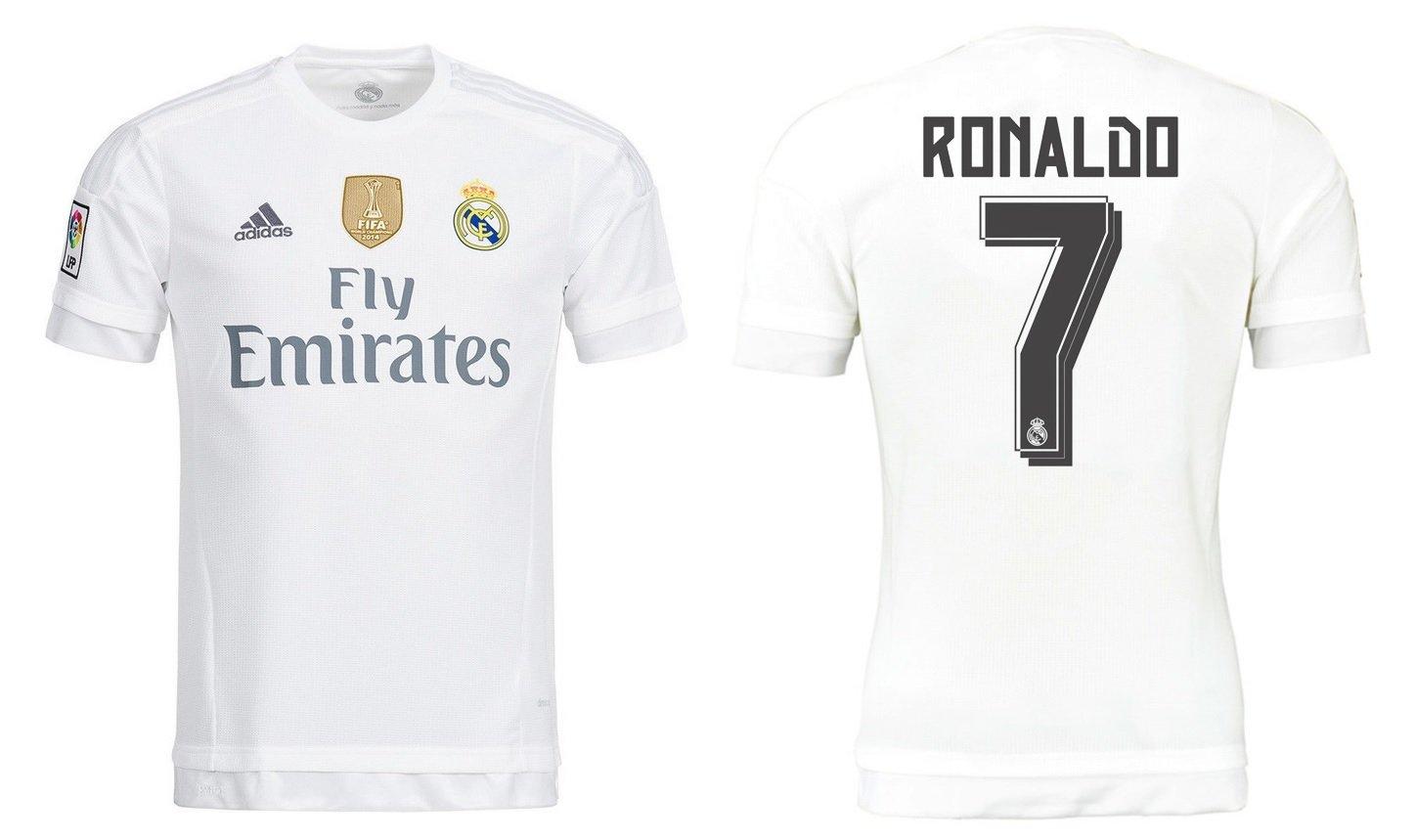 Trikot Kinder Real Madrid 2015-2016 Home WC - Ronaldo 7