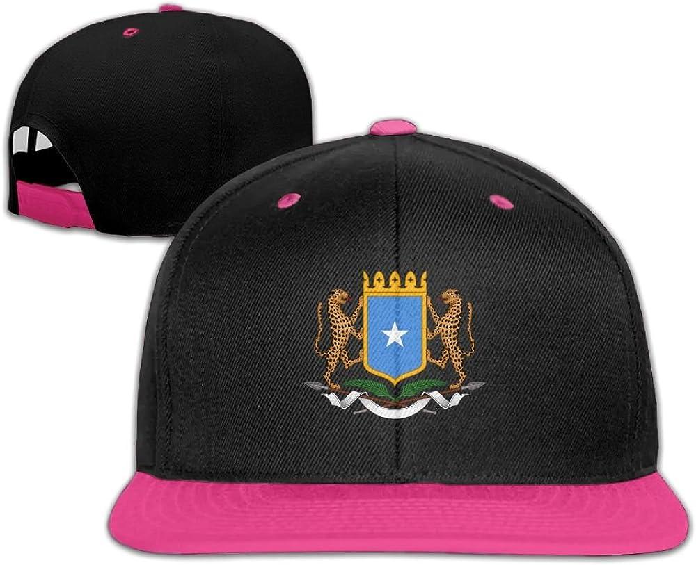 Humaoe Coat of Arms of Somalia Fashion Peaked Baseball Caps//Hats Hip Hop Cap Hat Adjustable Snapback Hats Caps for Unisex