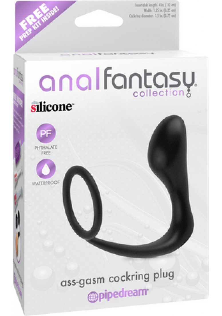 Pipedream Anal Fantasy Collection Ass-Gasm Cockring Plug