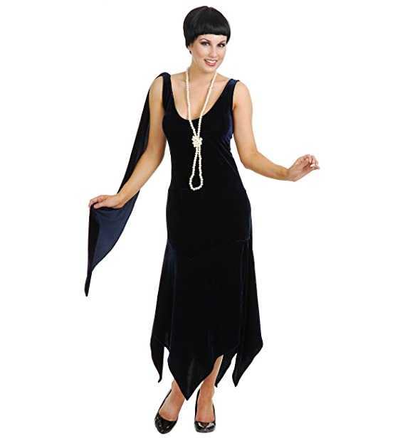 88bc7313d5d Amazon.com  Sandy Speak Easy 1920s Flapper Costume  Clothing