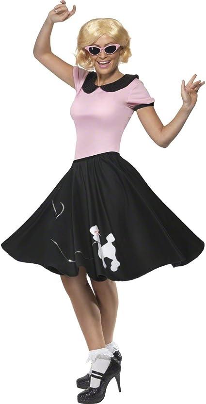 Smiffys - Disfraz de rock nroll de los años 60 para mujer ...