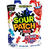 Sour Patch Kids Red White & Blue Mix Fat Free Candy, 1.9 lb, 4 Count