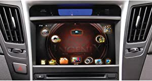 POWER ACOUSTIK P-84SNTA11 OEM Upgrade Multimedia Navigation System with 8-Inch Monitor and Bluetooth for Hyundai Sonata 2011