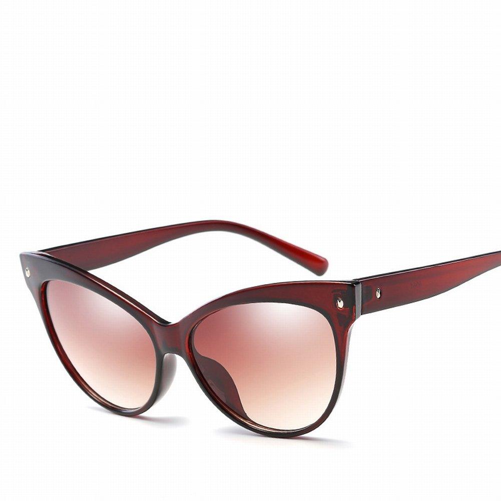 Katze Eyewear Retro Minze Sonnenbrille Strumpfhose Sonnenbrille , Tee-Rahmen Doppelte Tee