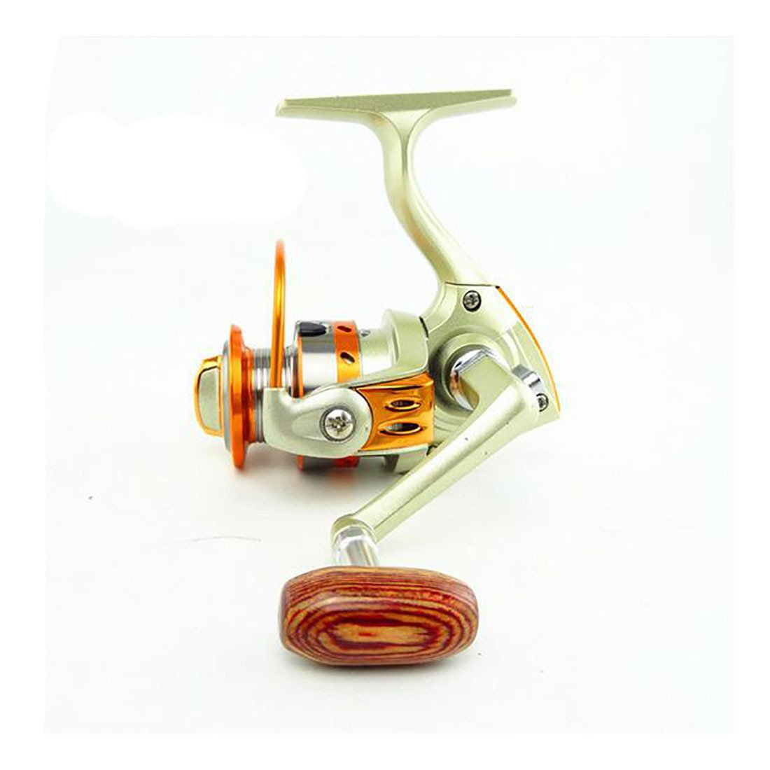 Koola de al aire libre Mini mn150 Metal Spinning carrete carrete ...