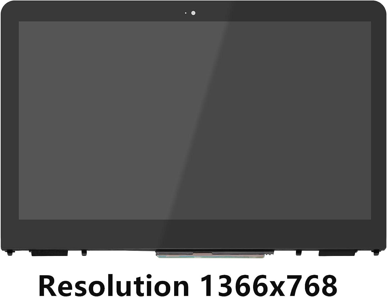 FTDLCD® 13.3 HD FHD LCD Pantanlla Táctil Digitalizador Asamblea+Marco Reemplazo de Portátil LP133WH2-SPB4 para HP Pavilion x360 13-U Series (Resolution 1366x768): Amazon.es: Electrónica