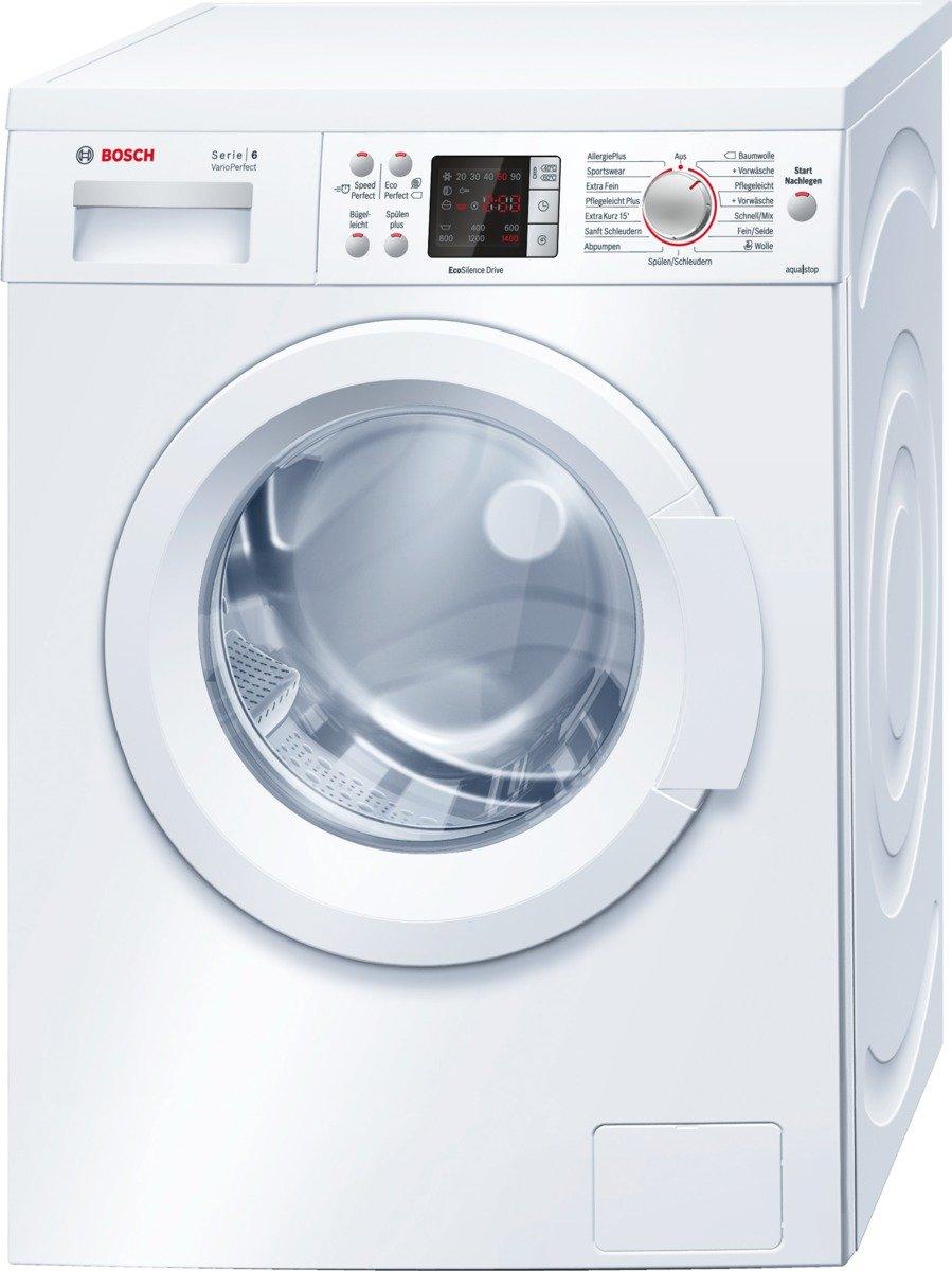Bosch WAQ28442 - Lavadora (Independiente, Frente, 1,6m, 7 kg, 1400 ...