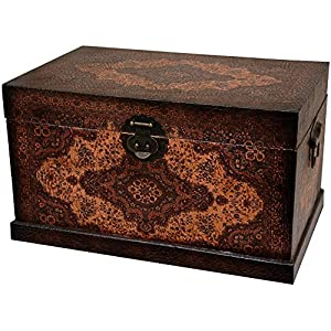 Oriental Furniture Olde-Worlde Baroque Storage Box