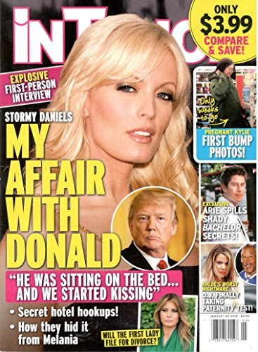 In Touch Weekly Magazine (January 29, 2018) Stormy Daniels: My Affair With Donald