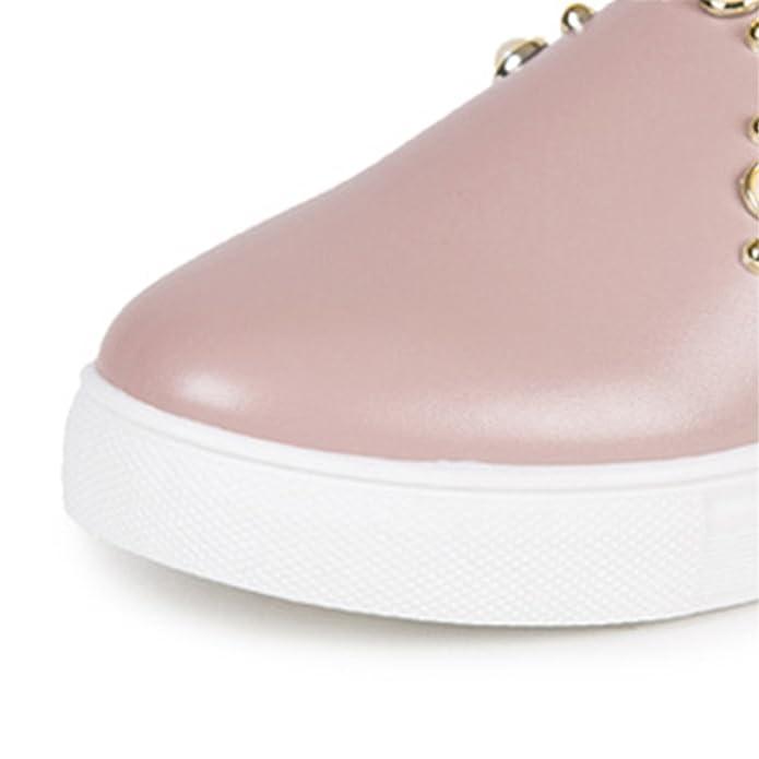 40e20308 Amazon.com | Feilongzaitianba Women Flat Shoes Zapatos Mujer Plataforma  Fashion Slip On Shoes for Women Platform Casual Shoes Flats Loafers C34 |  Shoes