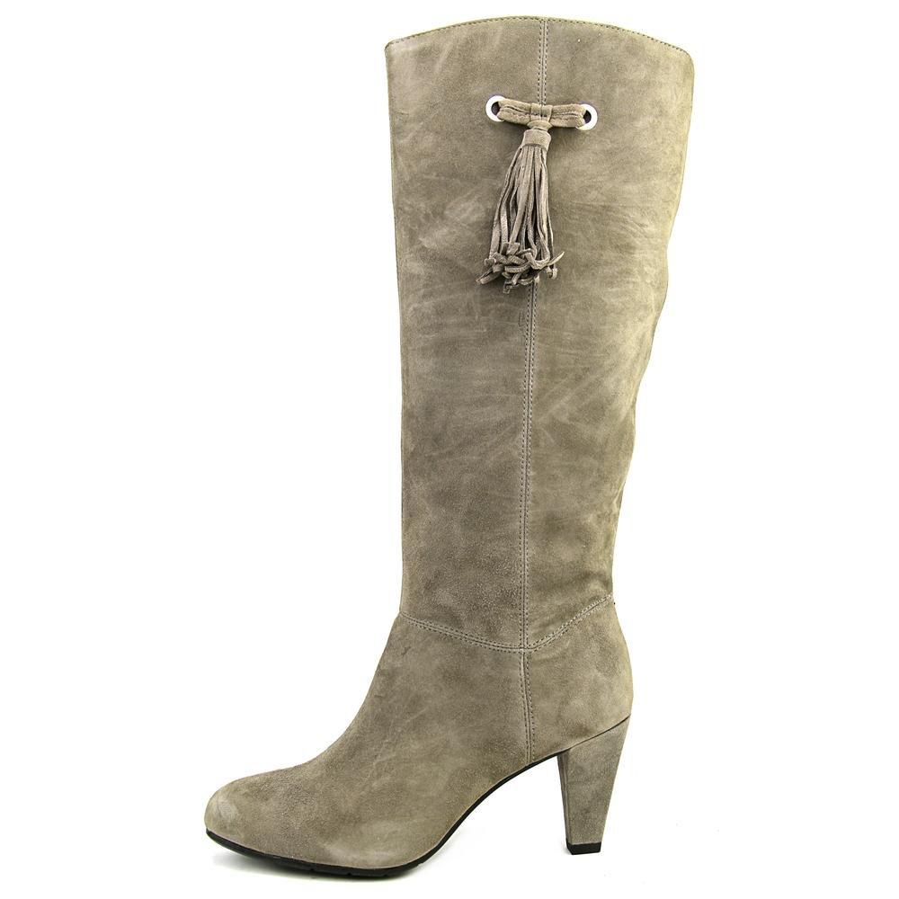 98423f86e01 Bandolino Womens BACIA Suede Round Toe Mid-Calf Riding Boots, MGy ...
