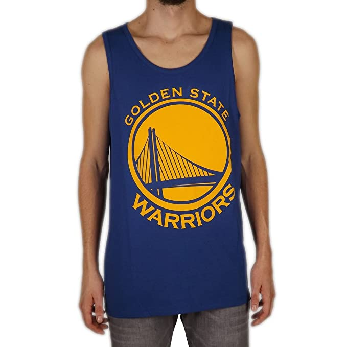 47_brand Camiseta Tirantes (Tank Top) NBA Golden State Warriors Splitter Azul Talla: S