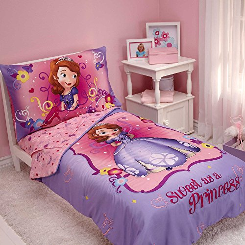 disney-kids-sofia-the-first-sweet-as-a-princess-toddler-pink-purple-bedding-for-girls-4-piece-in-a-b