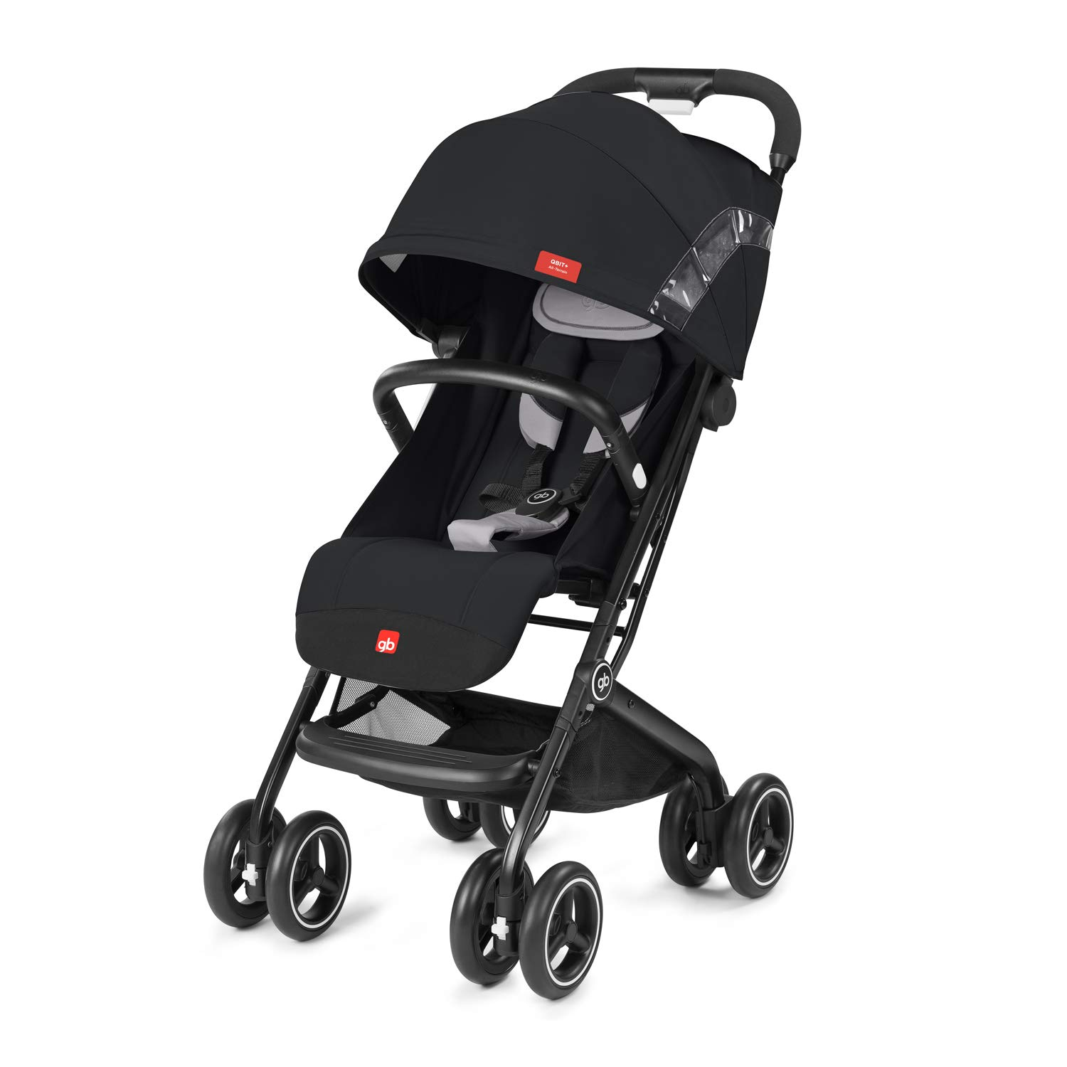 gb 2019 Buggy QBIT+ All-Terrain with Bumper Bar''Velvet Black''- from Birth up to 17 kg (Approx. 4 Years) - GoodBaby QBIT Plus