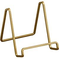 Tripar 4″ Metal Gold Square Wire Stand/Platter Stand/ Easel Display