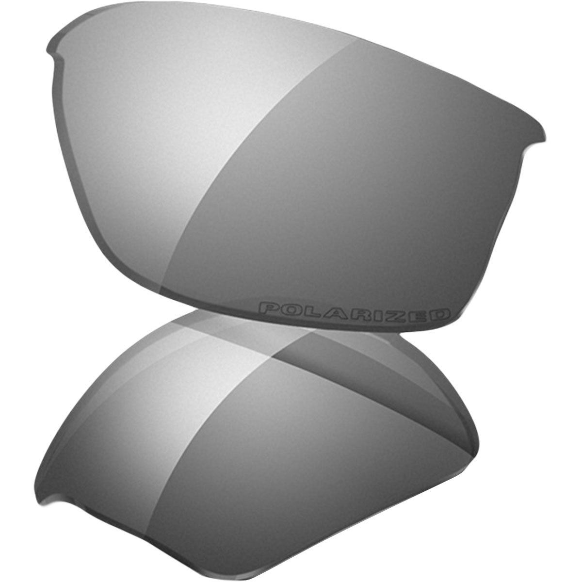 Oakley Flak Jacket Replacement Lenses,Black Iridium,one size by Oakley