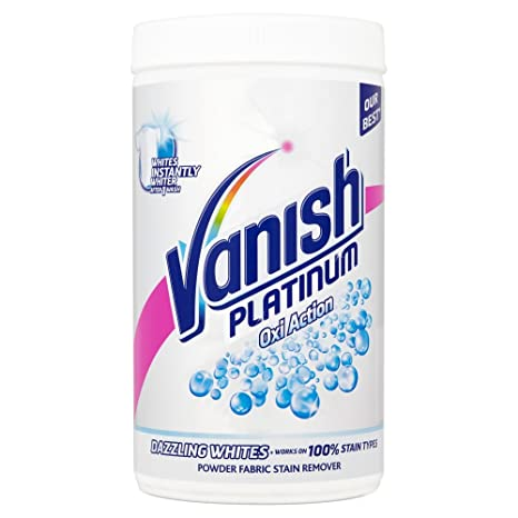 Vanish Fabric Stain Remover Platinum Oxi Action Powder Crystal