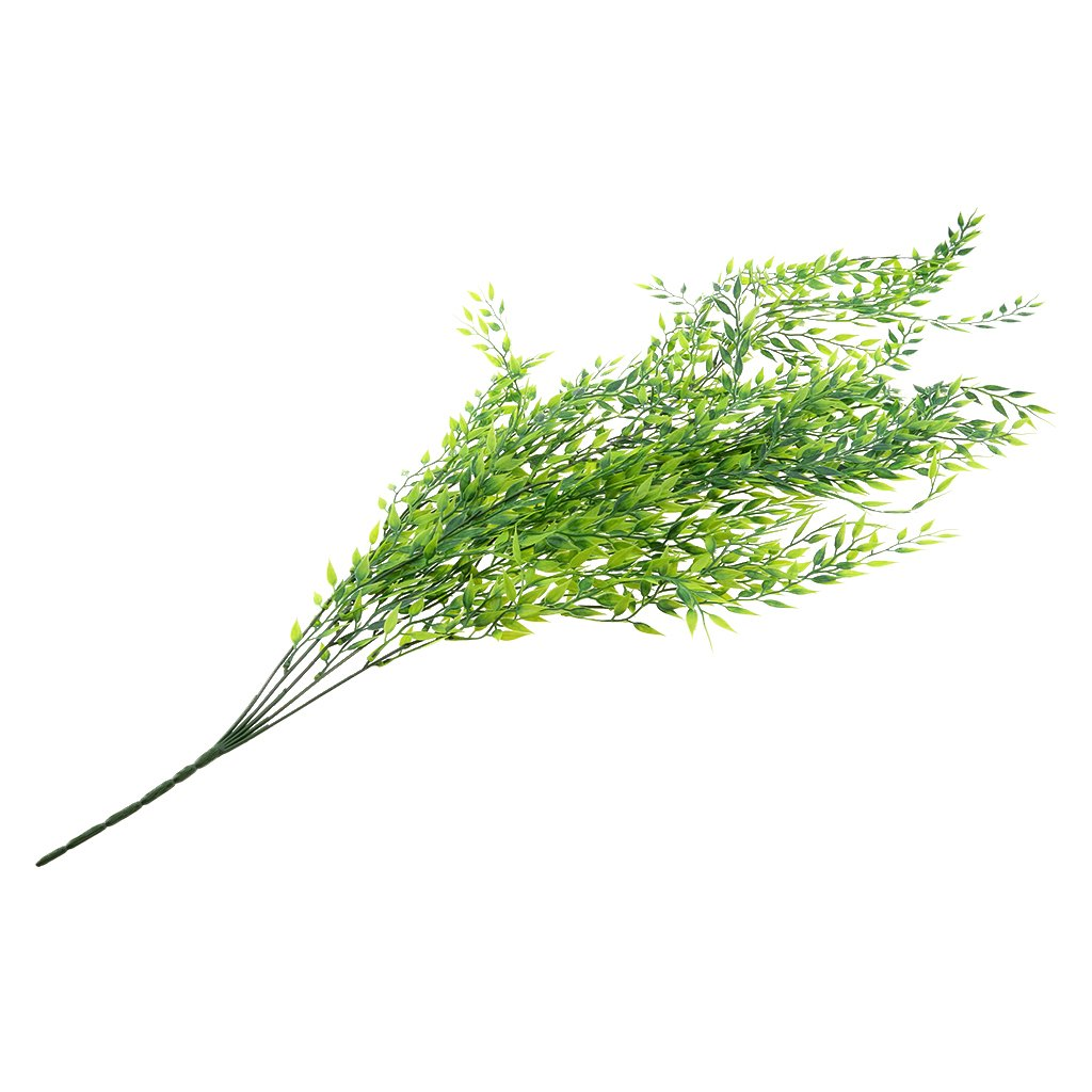 baoblaze 60 cm人工Willowアイビー植物アイビーVines Leavesウェディングパティオ、庭デコレーション用(グリーン1 ) B0791G3MNB