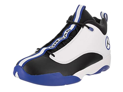71ea8e301012ee Nike Jordan Men s Jordan Jumpman Pro Quick White Black Varsity Royal Basketball  shoe 9.5 Men