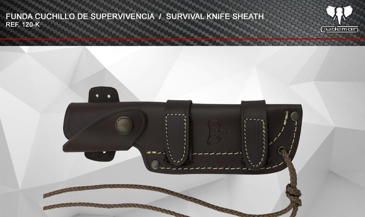 Amazon.com : Cudeman MT5 Survival Knife Cocobolo : Sports ...