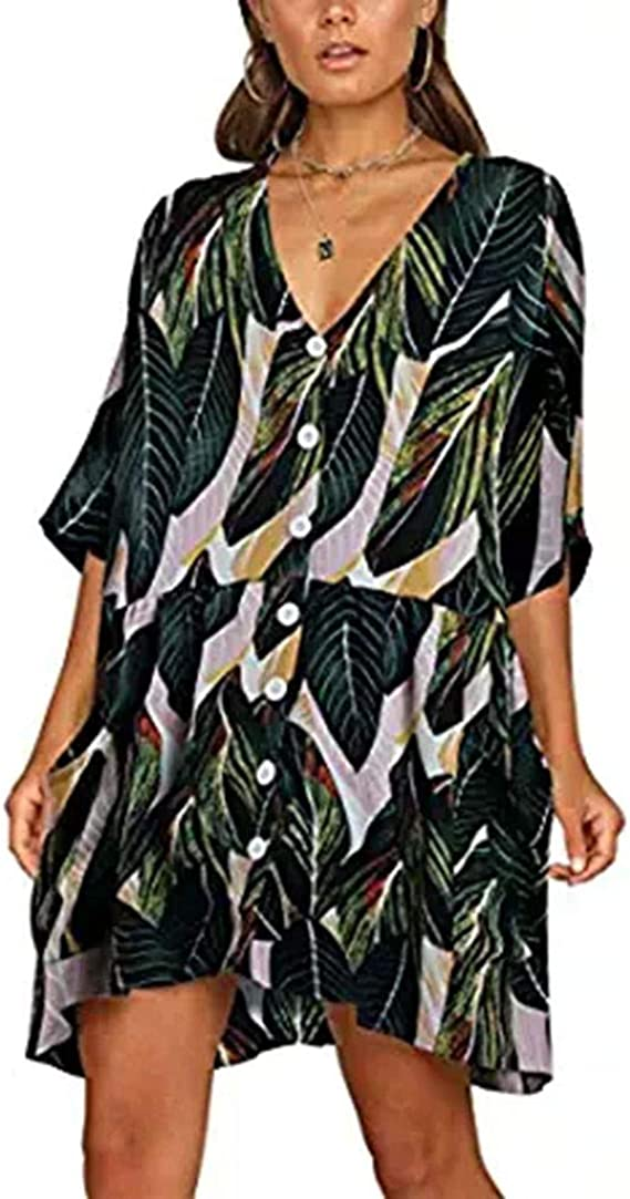 Girls Tunic Dress Sleeveless Party Hooded Summer Pocketed BodyCone Camo Top