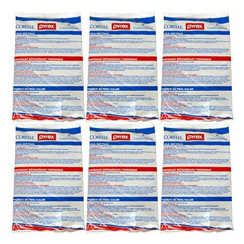 6 pack bag freezer gel packs - 8