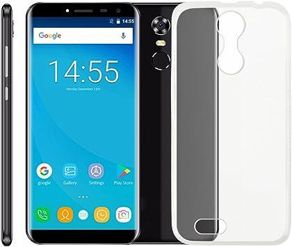 PREVOA Funda para Oukitel C8 - Transparent Silicona TPU Funda Case Protective para Oukitel C8 Smartphone: Amazon.es: Electrónica