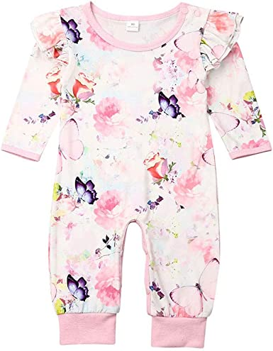 UK Infant Baby Boy Girl Kid Happy Birthday Romper Jumpsuit Cottom Outfit Clothes