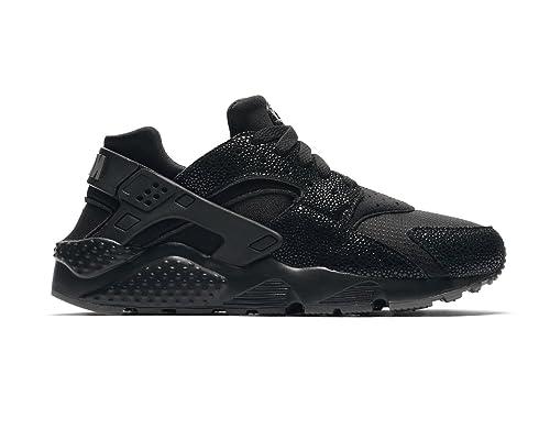 timeless design bc478 56774 Nike Huarache Run SE (GS) Black Black-Dark Grey 4.5Y  Amazon.in  Shoes    Handbags